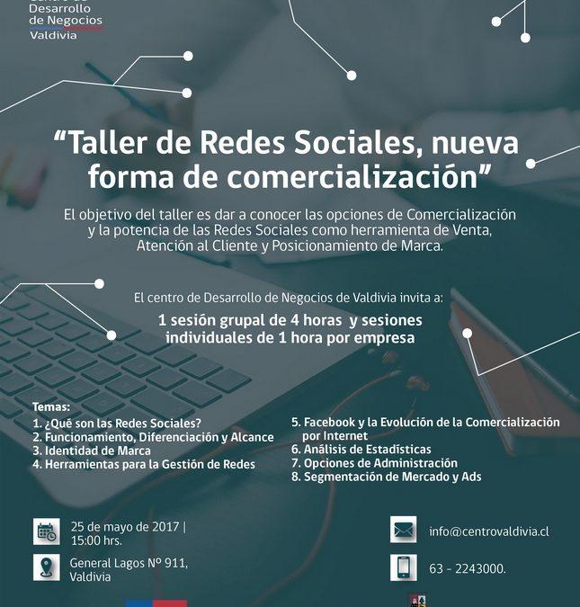 Taller Redes Sociales CDN Valdivia